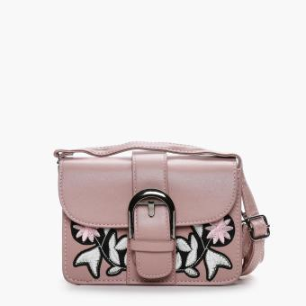 Parisian Ladies Umed Cross Body Bag (Old Rose)