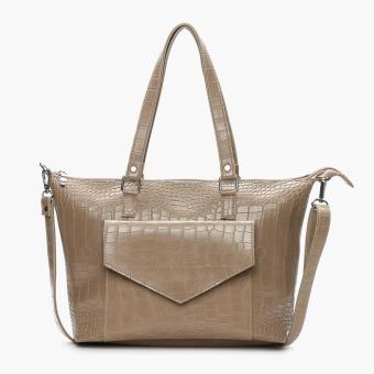 Parisian Ladies Ura Tote Bag (Taupe)