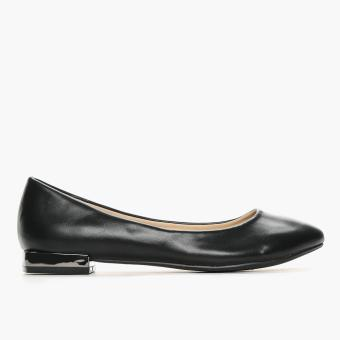 Parisian Ladies Velma Ballet Flats (Black)