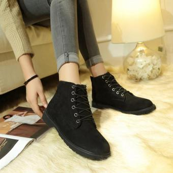 PATHFINDER Women's Fashion Warm Boots for Women in Winter(Black) -intl - 3