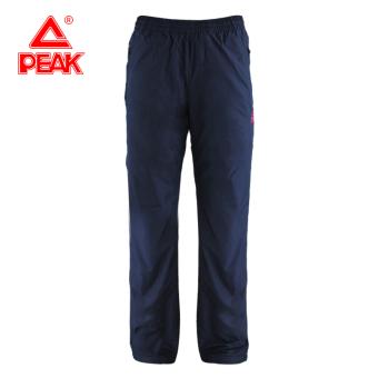 Peak casual Plus velvet autumn and winter New style pants (Navy)