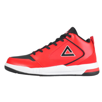Peak e43331a autumn and winter non-slip wear and men I shoes men's shoes (Red/Black)