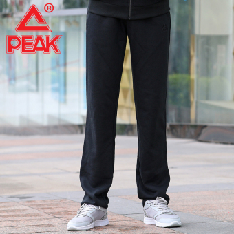 Peak fb33127 Shishang autumn and winter men's knit pants (Black)