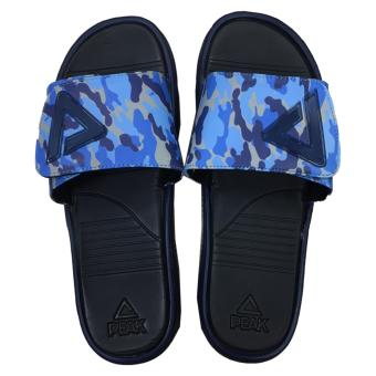 Peak Men's Basketball Sports Sandals [Black/Blue] S20169BU