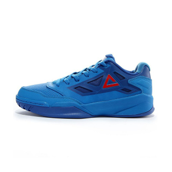 Peak wear and damping breathable men men's shoes basketball shoes (Aster blue/color blue)