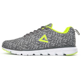 Peak winter New style mesh damping running shoes (Cold light gray)