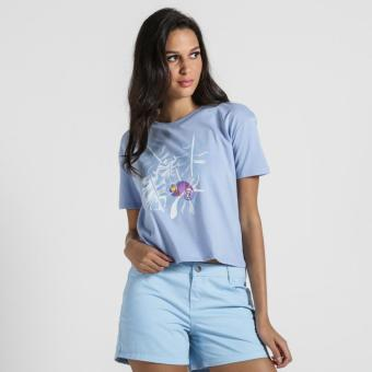 PENSHOPPE Boxy Graphic Tee (Periwinkle)
