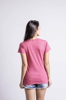 Penshoppe Casual Graphic Tee (Pink) - 4
