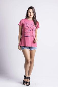 Penshoppe Casual Graphic Tee (Pink) - 5