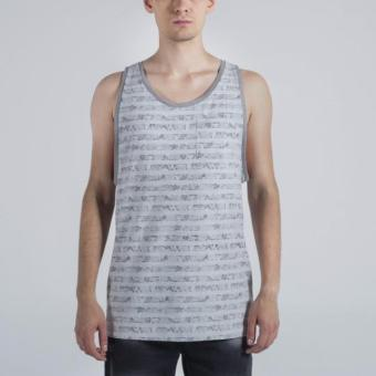Penshoppe Circular Knit Patterned Tee (Gray) Price Philippines