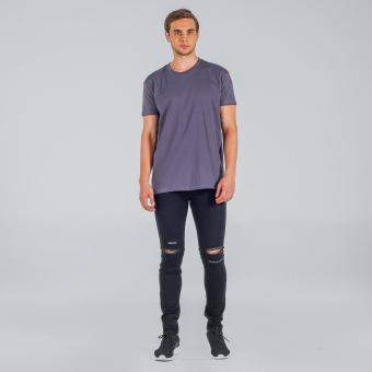Penshoppe Relaxed Fit Tee (Dark Gray)