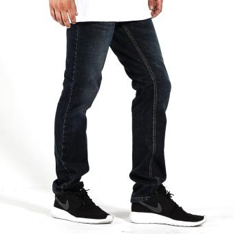 Penshoppe Slim Fit Jeans (Blue) - 2