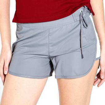 PENSHOPPE Swim Shorts W/ Un-Even Side Seam (Gray) - 4