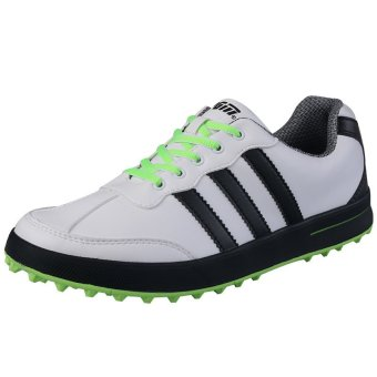 PGM Men Golf Shoes Casual Shoes Waterproof(green)
