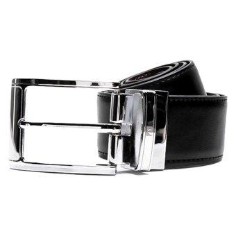 Pierre Cardin Genuine Leather Belt Reversible (Black/Brown)