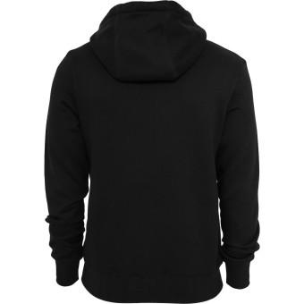 Plain Black Hoodie Jacket fleece - 2