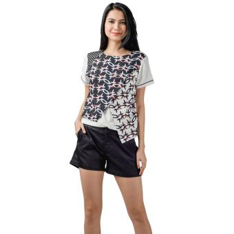 Plains & Prints Norcross Short Sleeves Top (Multi)