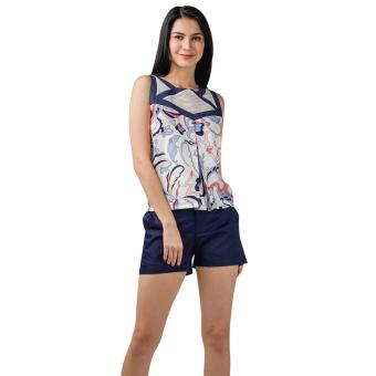 Plains and Prints Marshel Sleeveless Top (Multi) Price Philippines