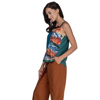 Plains and Prints Pereira Sleeveless Top (Multi) - 2