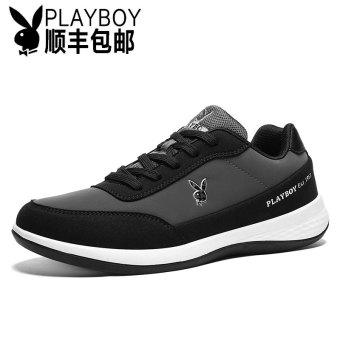 ac1b75a7c Online PLAYBOY versatile student running shoes men's shoes (Dark ...