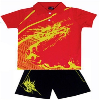 Polyester Eco-Friendly Children Sportwear Tennis Jersey Quick Dry Boy/Girl Badminton Racing Suit Table Tennis T-Shirt - intl Price Philippines