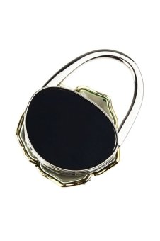 Portable Folding Handbag Rose Hook Hanger Holder (Green) - picture 2