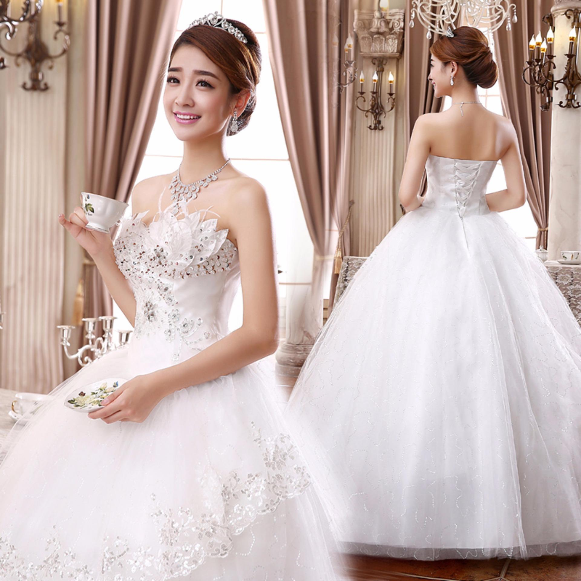 Philippines | Pregnant Woman dress Wedding Ball Gown with bridal ...