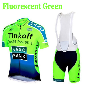 Pro Bike Team Breathable Cycling Clothing Bike Wear Racing ClothesBicycle Jacket Quick-Dry Polyester Shirt Cycling Jersey Lycra BIBShort Pants Gel Pad - intl