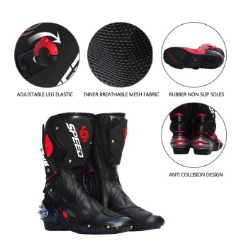 Pro-biker Waterproof Racing Motorcycle Boots Outdoor Sports CyclingShoes - intl Price Philippines