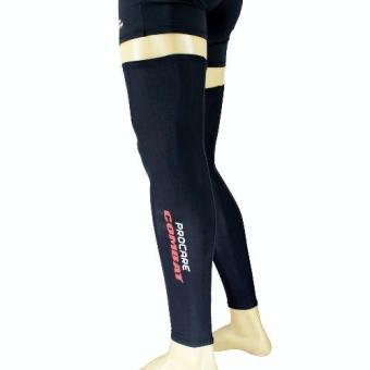 PROCARE COMBAT #5206 Compression Full Leg Sleeves Pair (Black) - 2
