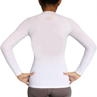 PROCARE COMBAT #9204 Dri-Quik Ladies Compression Long Sleeves for Yoga Zumba Jogging Running (White) - 3