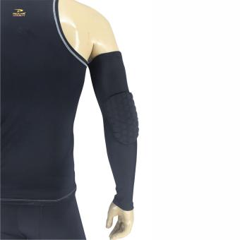 PROCARE COMBAT #CSX45 Compression Arm Sleees Hex Padded Elbow 1pc(Black)