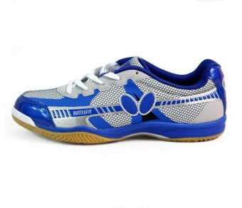 Professional Men and Women's Badminton Shoes Breathable Couples Table Tennis Sneakers Size 36-44 - intl
