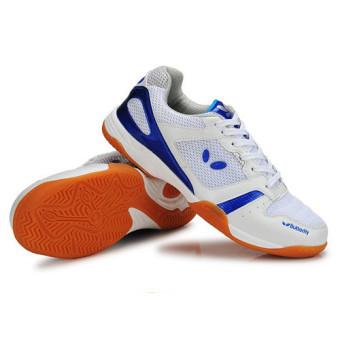 Professional Men Tennis Shoes Badminton Sneakers(Blue) intl - 3