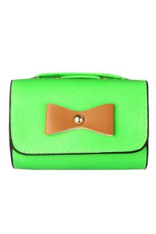 PU Leather Envelope Body Bag (Green)