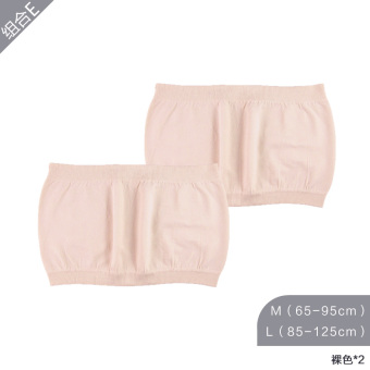 Qiudong not with pad one-piece no shoulder strap bra boob tube top (Combination E)