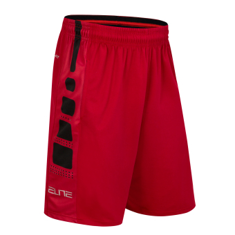 Quick-drying over-the-knee running Fitness Sports shorts basketball shorts (Watermelon Red)