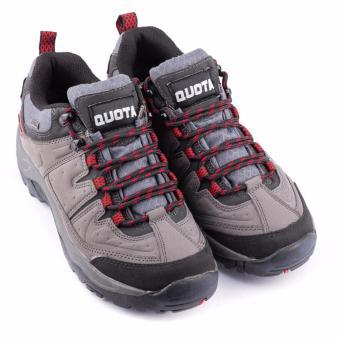 Quota Trekker Shoes Grey/Red - 2