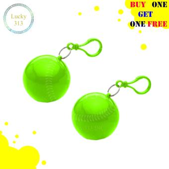 Raincoat Cute Ball Case Buy One Take One (Green) Price Philippines