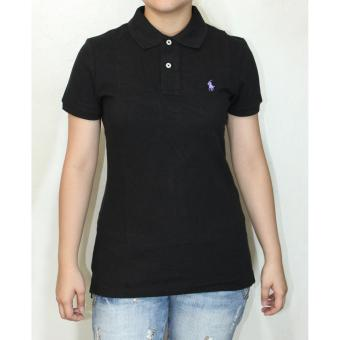 Ralph Lauren Skinny Polo Shirt Black Price Philippines