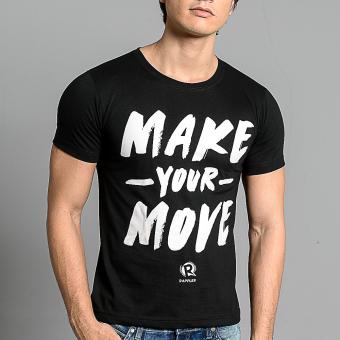 Rappler Xchange Make Your Move Cotton T-Shirt (Black) - 5