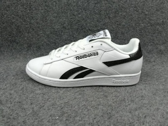 Reebok Mens Casual Shoes Loafer Shoes New Fashion SlidingShoes(white with black) - intl