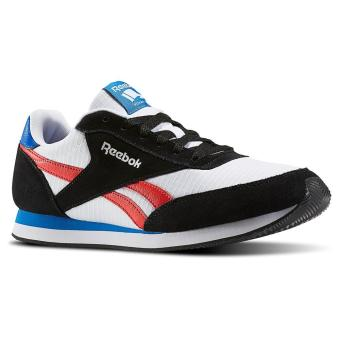 Reebok Royal CL Jogger 2 (Black/White/Primal Red/Awesome Blue)