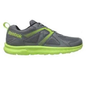Reebok Run Supreme Running Shoes (Flat Grey/SolarYellow/White/Black) - 3
