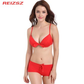 REIZSZ Sexy Bikinis Women Swimsuit Beach Bathing Suit with Pad andUnderwire Bathing Suit Beach Swim Wear Swimsuit - intl