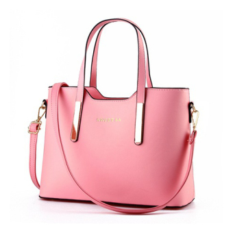 Retro handbags large shoulder bag women tote bags Pink - Intl ...