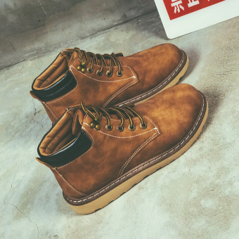 Retro men's shoes Dr. Martens (888 Brown)