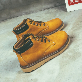 Retro men's shoes Dr. Martens (888 yellow)