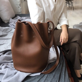 Retro New style celebrity inspired handbag bucket bag (PARK'S color)