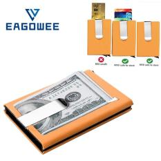 The cheapest price eagowee rfid blocking automatic credit card eagowee rfid blocking automatic credit card holder business card holder quilted card holder waterproof credit card reheart Images